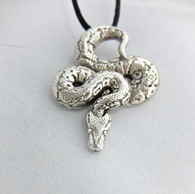 Boa Constrictor Snake Pendant
