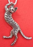 Savannah Cat Pendant