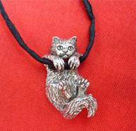 Ragdoll Kitten Pendant Sterling Silver
