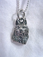 Maine Coon Cat Charm Sterling Silver