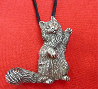 Norwegian Forest Cat Pendant