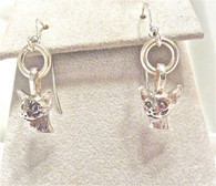 Siamese Earrings Sterling