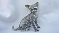 Chihuahua Short Coat Dog Pendant