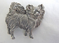 Chihuahua Dog Pendant Long Hair
