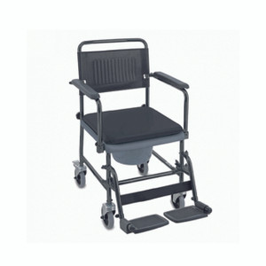 Glideabout Mobile Commode Chair AMC001