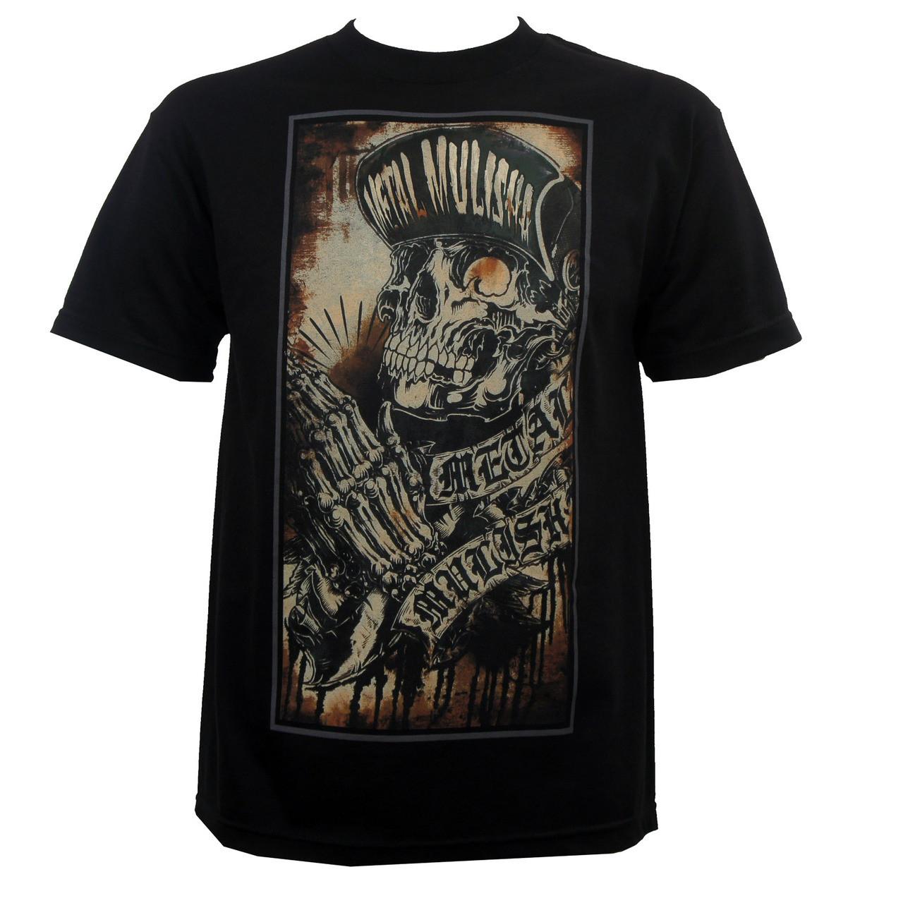 Metal Mulisha Pray T-Shirt Black - Merch2rock Alternative Clothing