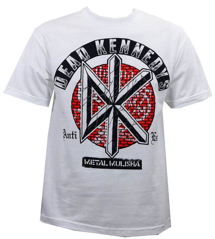 Metal Mulisha Bricks T-Shirt White - Merch2rock Alternative Clothing 14d1d35af