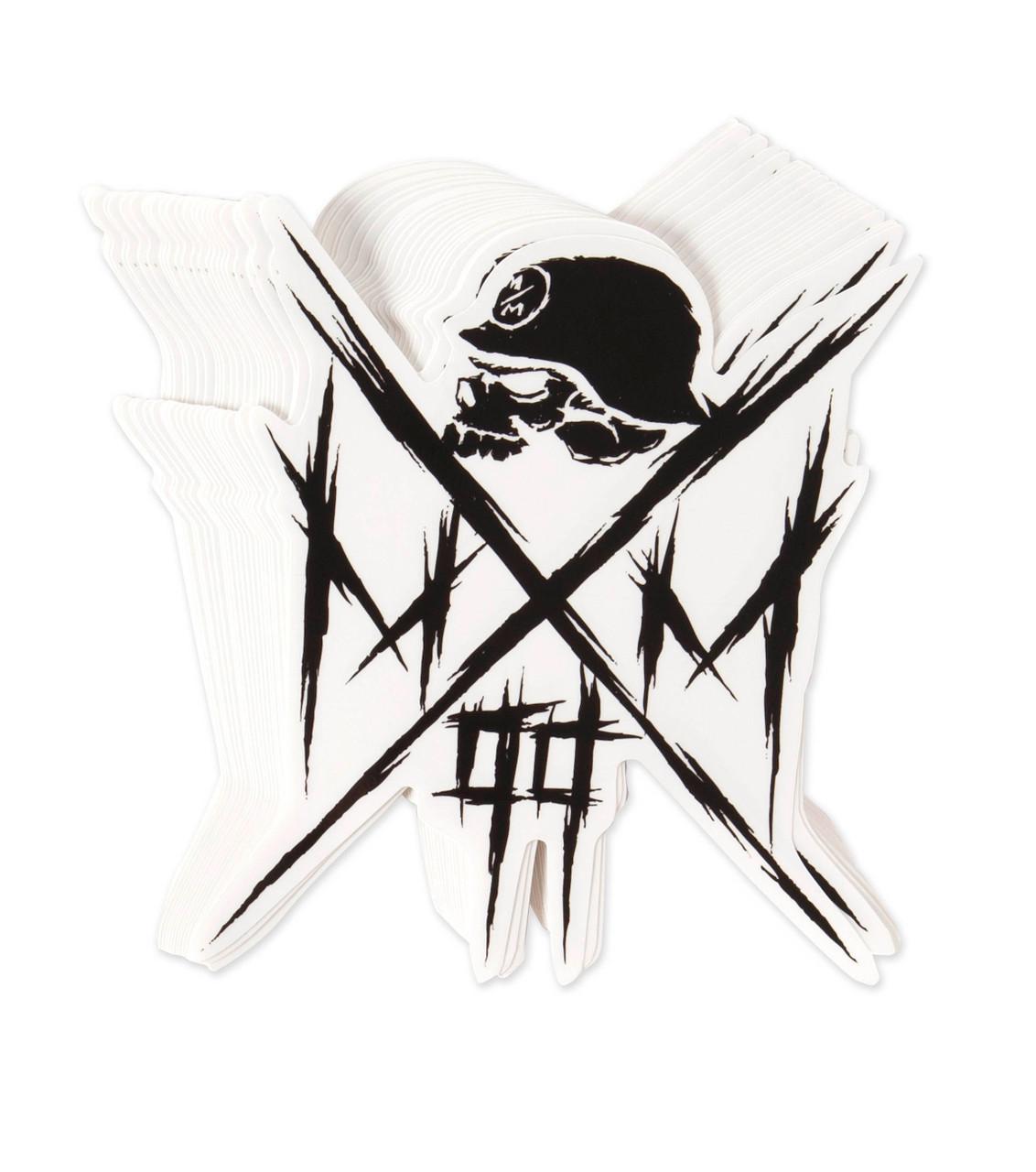 METAL MULISHA Owned Skull Cross 6\