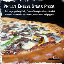 Philly Cheese Steak Pizza - Large