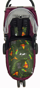 "Safari ""Race a Rama"" Snuggle Bag to fit Baby Jogger"