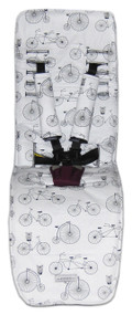 Retro Bicycles & Owls to fit Baby Jogger City Mini GT