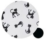 Cats Black & White to fit Agile/Agile Plus - all cotton