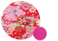 Kimono Red & Hot Pink Snuggle Bag to fit MB Duo/Duet