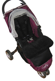 Jet Black Snuggle Bag to fit Baby Jogger