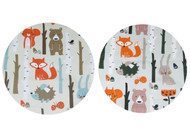 Forest Animals Cream & Mint to fit MB Duo/Duet (set of 2 liners)
