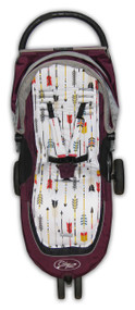 Arrows Cotton Pram Liner to fit Baby Jogger