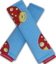 Ladybug Cotton Strap Covers