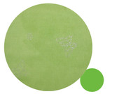 Apple Green Silver Butterfly Universal Fit Cotton Universal Fit Pram Liner - clearance