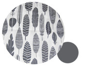 Grey Feathers Snuggle Bag to fit Joolz Geo