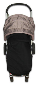 Jet Black Universal Fit Snuggle Bag