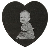 Promotional Product - Granite Heart Shape Tile