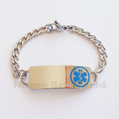 Medical Alert ID / Stainless Steel Bracelets or Necklaces - EREE Engrave