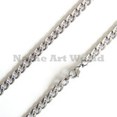 Wholesale Stainless Steel Link Chain 7 mm wide - High Polished---Lower price guarantee