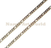 Wholesale Stainless Steel Figaro Chain 4mm wide- High Polished---Lower price guarantee