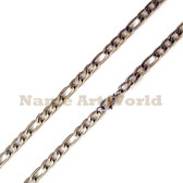 Wholesale Stainless Steel Figaro Chain 6mm wide- High Polished---Lower price guarantee