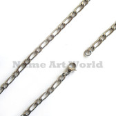 Wholesale Stainless Steel 1:1 Link Chain 5mm wide- High Polished---Lower price guarantee
