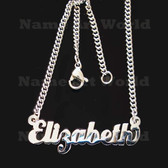 Elizabeth Name Necklaces. Next day ship. NeverTarnishes