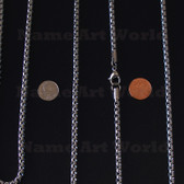 Wholesale Stainless Steel Box Round Chain 5.0 mm - High Polished