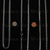 Wholesale price Stainless Steel Box Chain 6 mm - High Polished