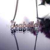 Isabella Name Necklaces. NeverTarnishes
