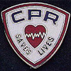 CPR SAVES LIVES LAPEL PIN - PN-0108