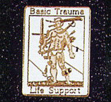 BASIC TRAUMA LIFE SUPPORT LAPEL PIN - PN-2707