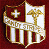CANDY STRIPER EMBLEM PIN - GPE-1314