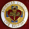 ADVANCE CARDIAC LIFE SUPPORT EMBLEM PIN - GPE-2080