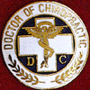 DOCTOR OF CHIROPRACTIC EMBLEM PIN - GPE-1060