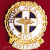 HOME HEALTH AIDE CERTIFIED EMBLEM PIN - GPE-1074