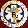 REGISTERED PHARMACIST EMBLEM PIN - GPE-1034