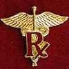PHARMACIST EMBLEM PIN - GPE-1035