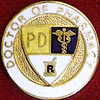 DOCTOR OF PHARMACY EMBLEM PIN - GPE-2034