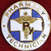 PHARMACY TECHNICIAN EMBLEM PIN - GPE-2035