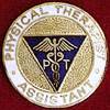 PHYSICAL THERAPIST ASSISTANT EMBLEM PIN - GPE-2025
