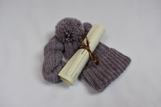 We blended our softest, finest pure white alpaca with deep violet Icelandic fiber to produce this rich, warm yarn.