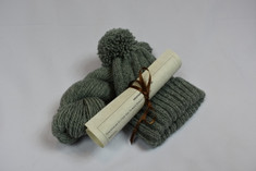 Forest Green Shepherd's Watch Cap Kit