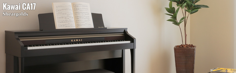 Kawai CA17 Digital Piano from Sheargolds