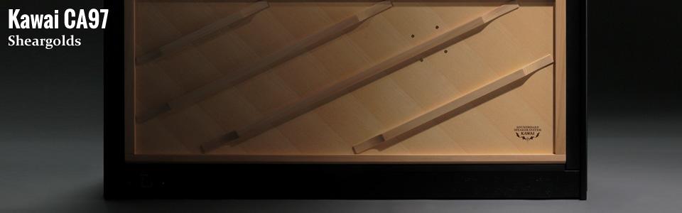 Kawai CA97 digital piano from Sheargolds