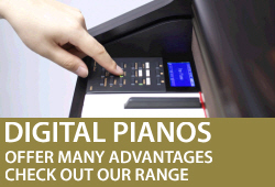 Digital Pianos offer many advantages